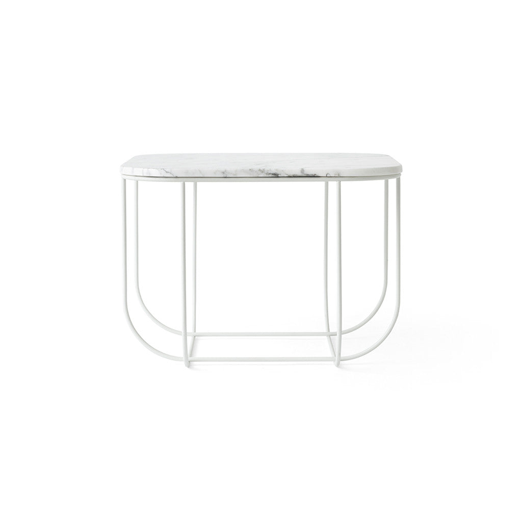 Menu FUWL Cage Table White /White Marble - Is To Me - 1