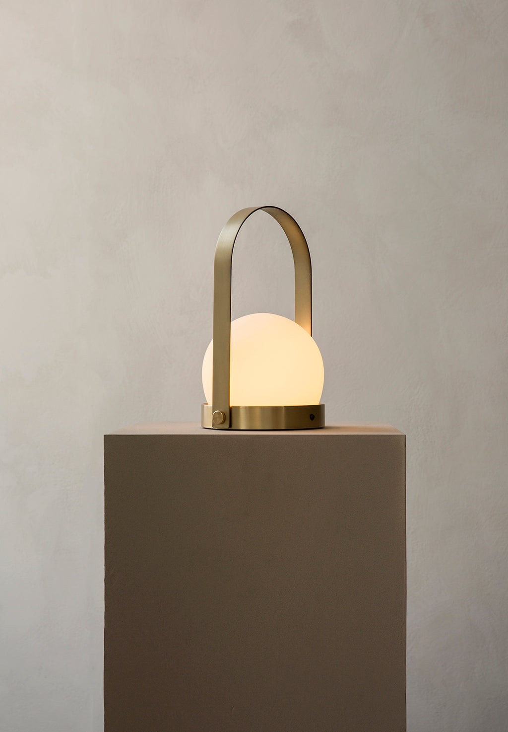Menu Carrie LED Lamp - Brushed Brass - 5