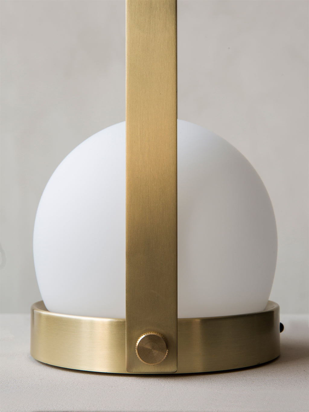 Menu Carrie LED Lamp - Brushed Brass - 4