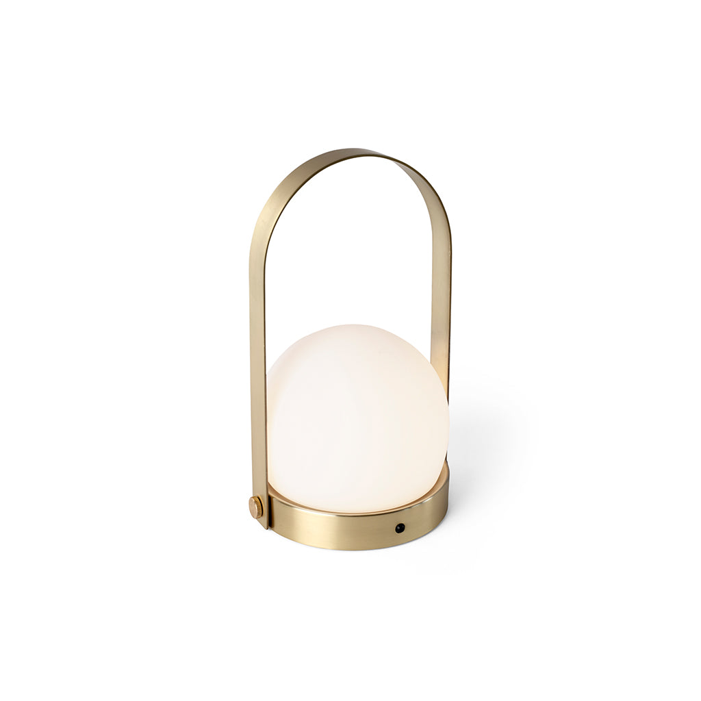 Menu Carrie LED Lamp - Brushed Brass - 2