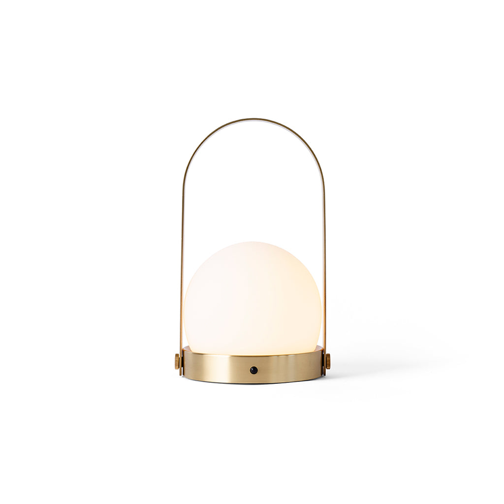 Menu Carrie LED Lamp - Brushed Brass - 1