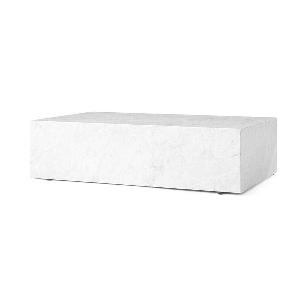 Menu Plinth Marble Coffee Table - 1