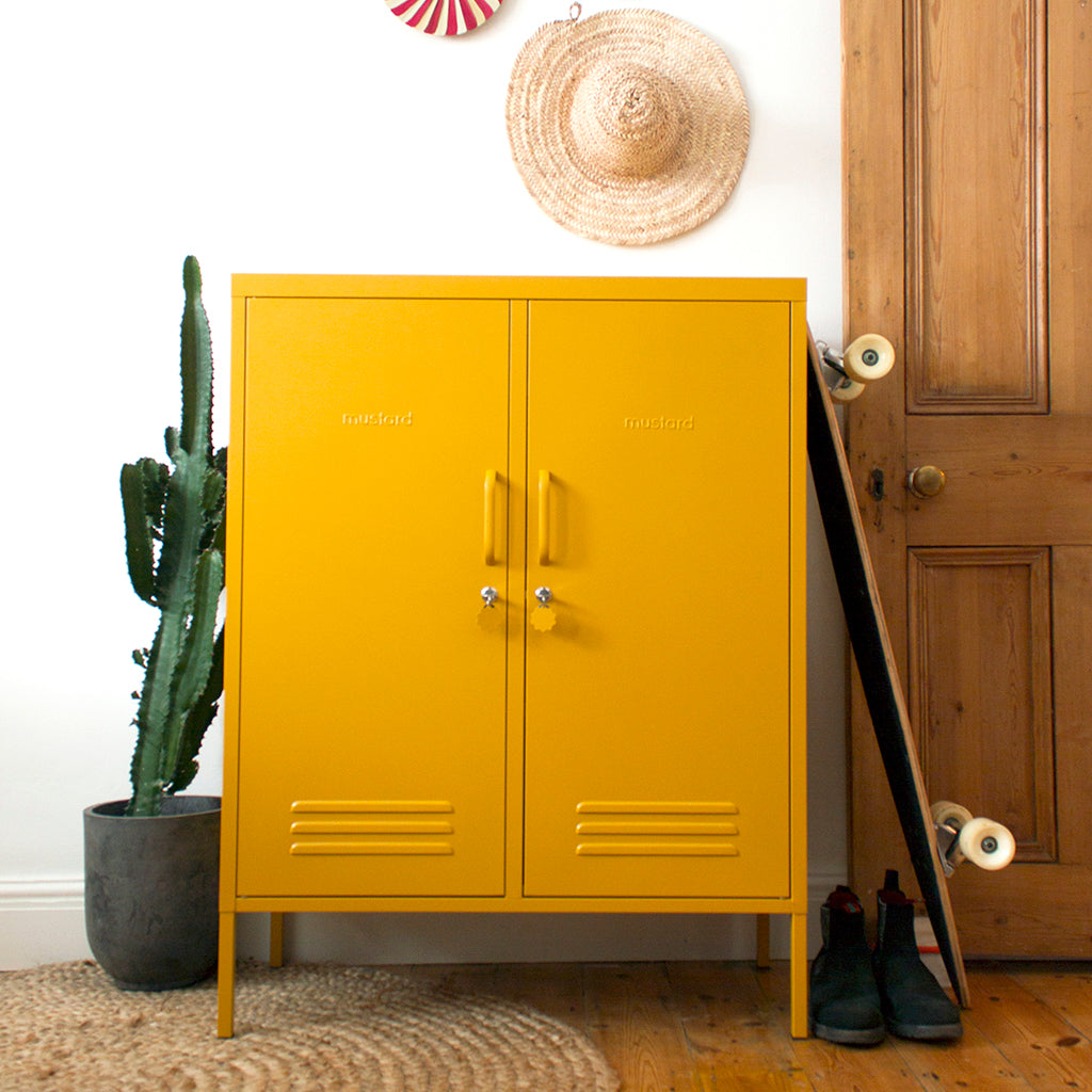 Mustard Made Midi Locker - Mustard - 1