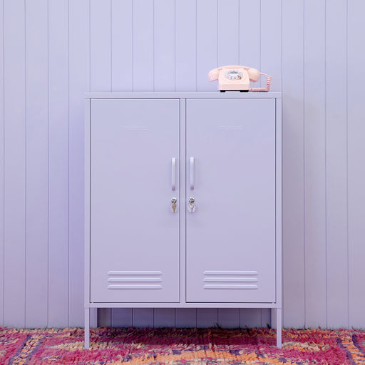 Mustard Made Midi Locker - Lilac - 2
