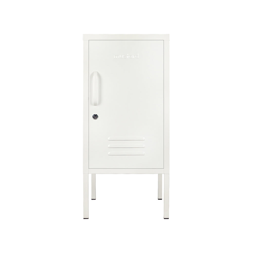 Mustard Made Shorty Locker - White - 1