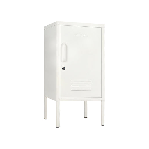 Mustard Made Shorty Locker - White - 2