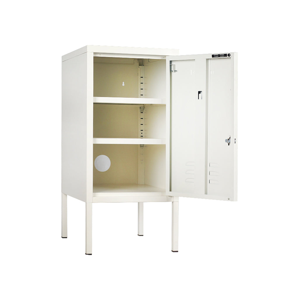 Mustard Made Shorty Locker - White - 3