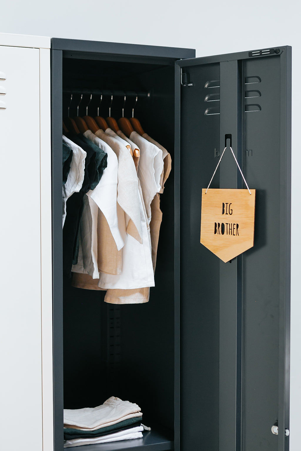 Mustard Made Skinny Locker - Slate - 4