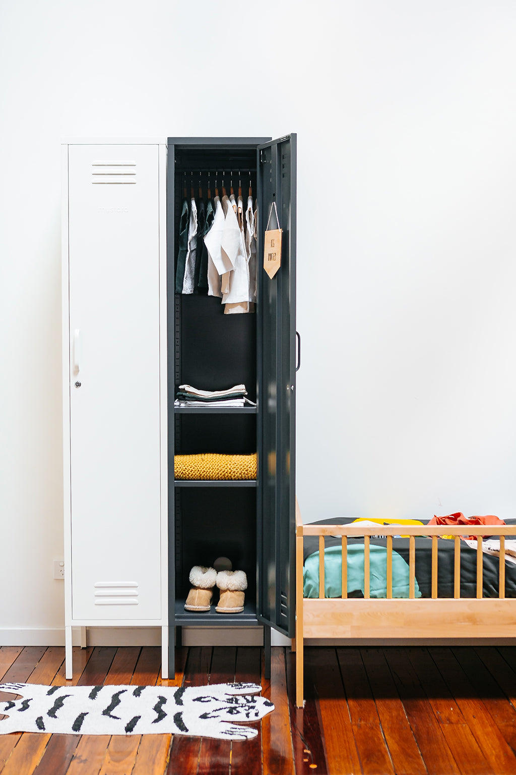 Mustard Made Skinny Locker - Slate - 7