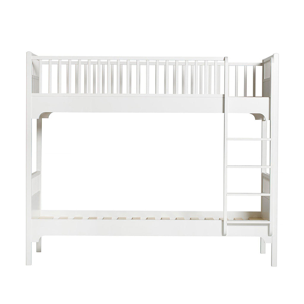 Oliver Furniture Seaside Bunk Bed with Vertical Ladder White - 1