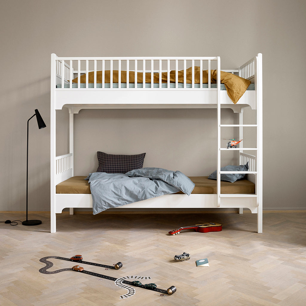 Oliver Furniture Seaside Bunk Bed with Vertical Ladder White - 2