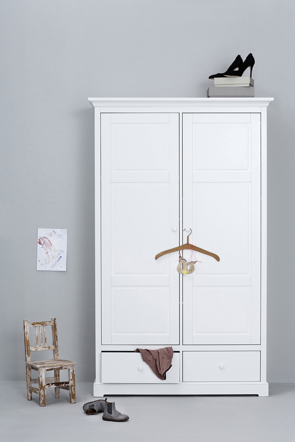 Oliver Furniture Seaside Wardrobe 2 Door - 3