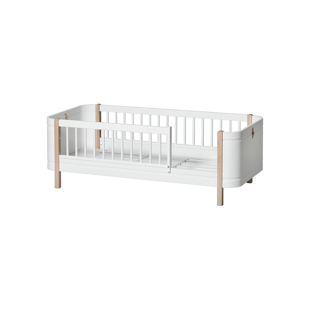Oliver Furniture Wood Mini+ Cot Bed White/Oak - 3