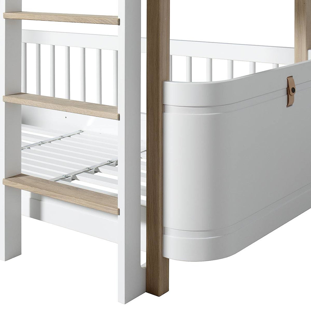 Oliver Furniture Wood Mini+ Low Bunk Bed White/Oak - 4