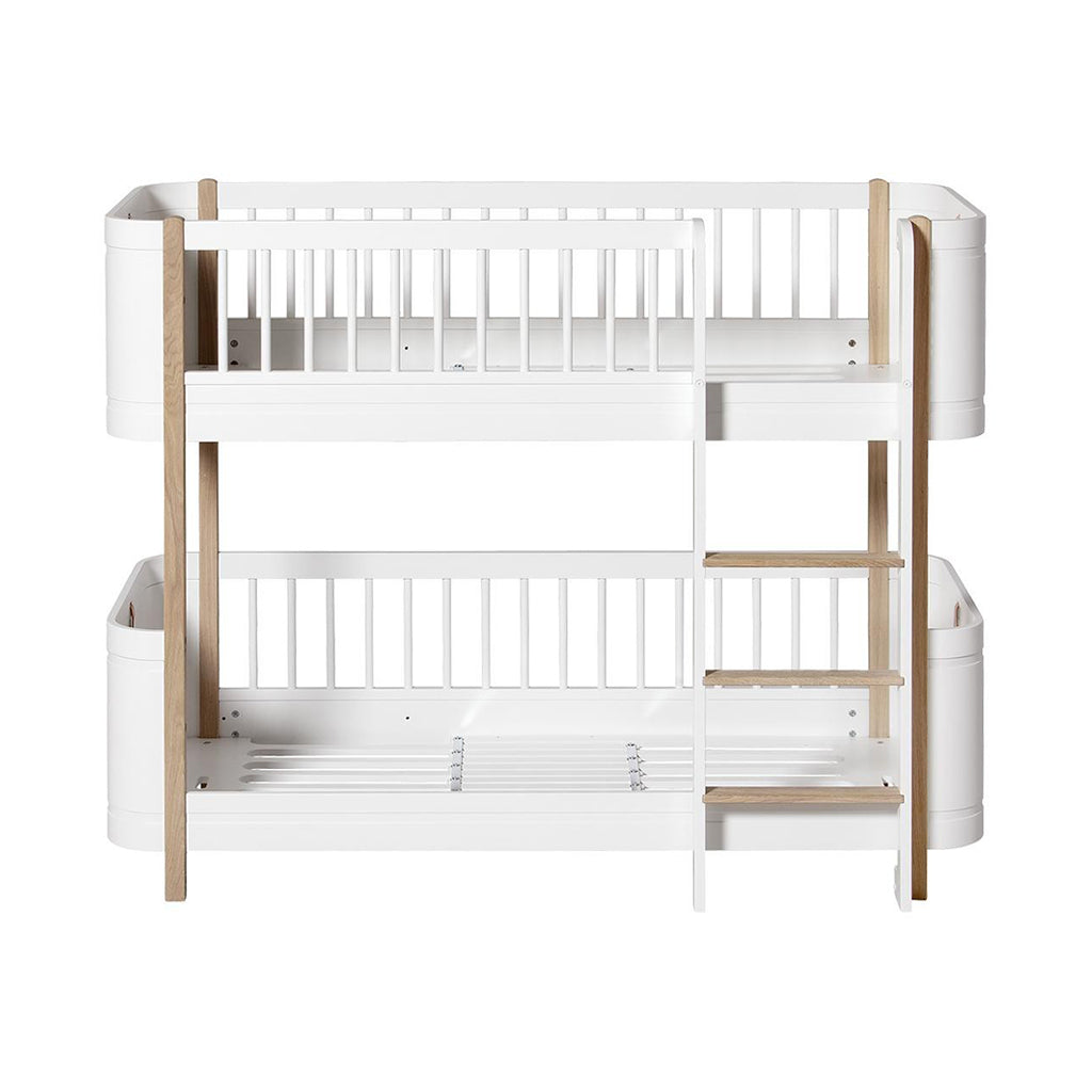 Oliver Furniture Wood Mini+ Low Bunk Bed White/Oak - 1