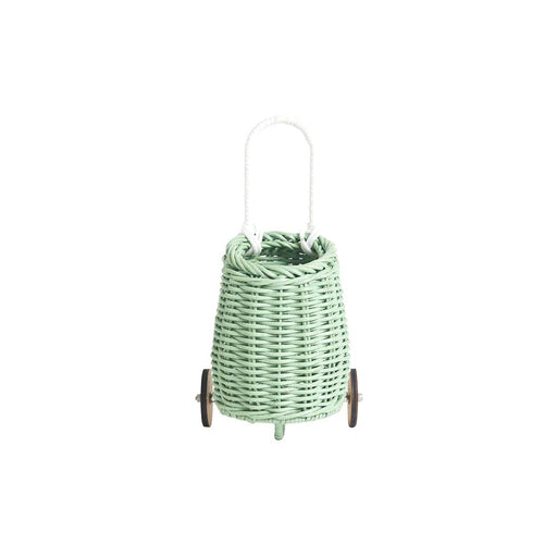 Olli Ella Doll Luggy Basket - Mint - 1