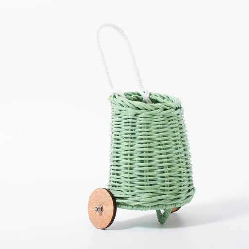 Olli Ella Doll Luggy Basket - Mint - 2