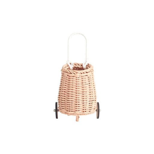 Olli Ella Doll Luggy Basket - Rose - 1