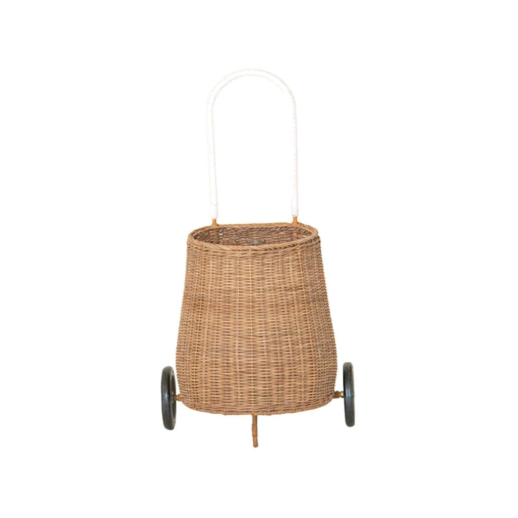 Olli Ella Medium Luggy Basket - Natural - 1