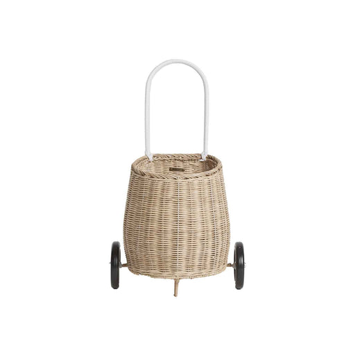 Olli Ella Luggy Basket - Straw - 1