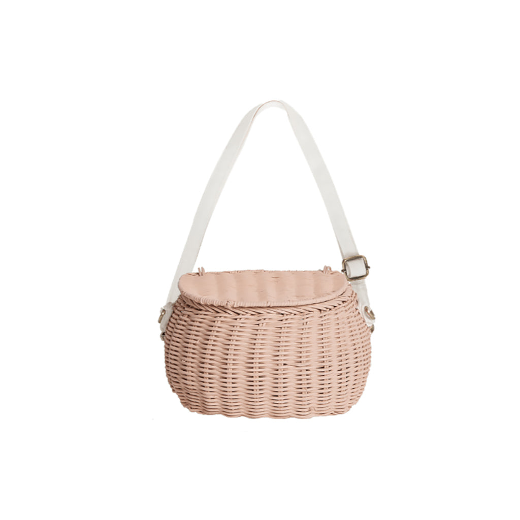 Olli Ella Mini Chari Bag - Rose - 1