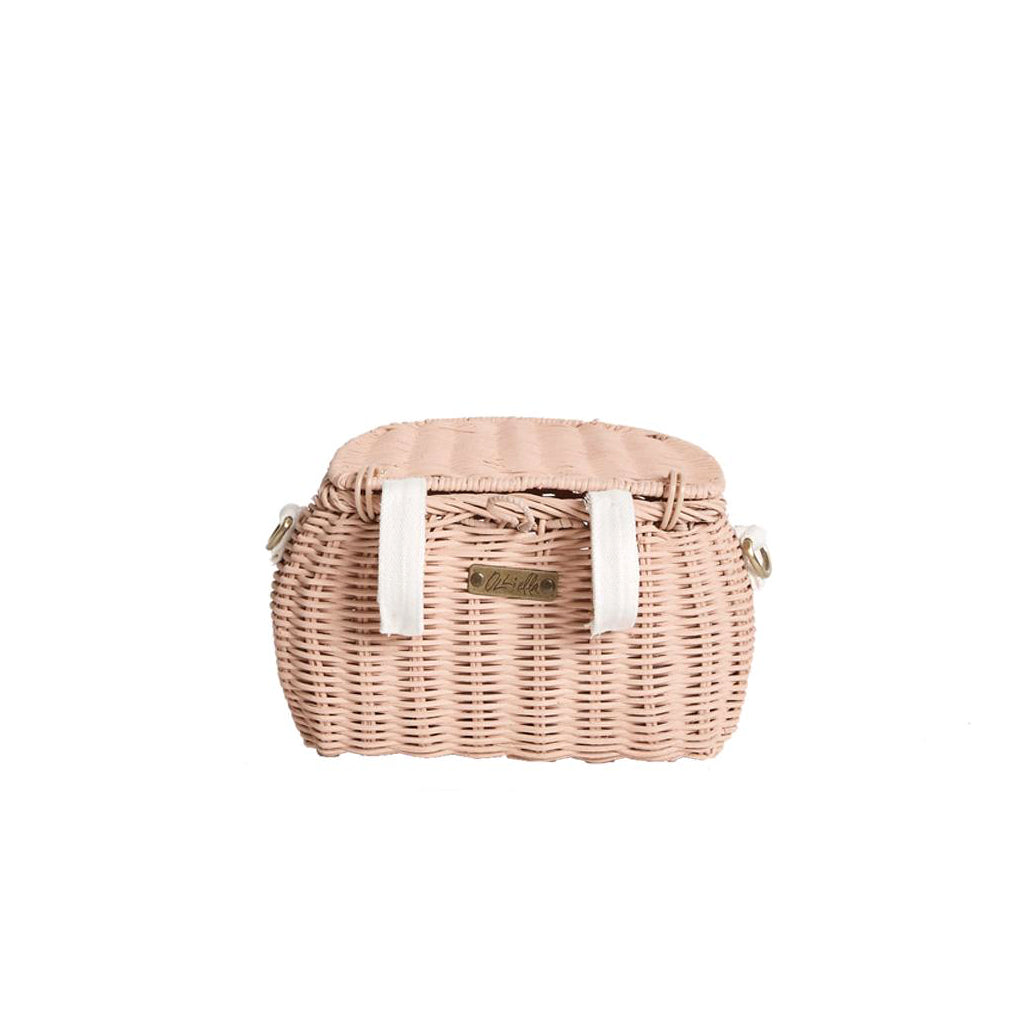 Olli Ella Mini Chari Bag - Rose - 3