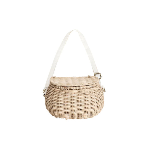 Olli Ella Mini Chari Bag - Straw - 1