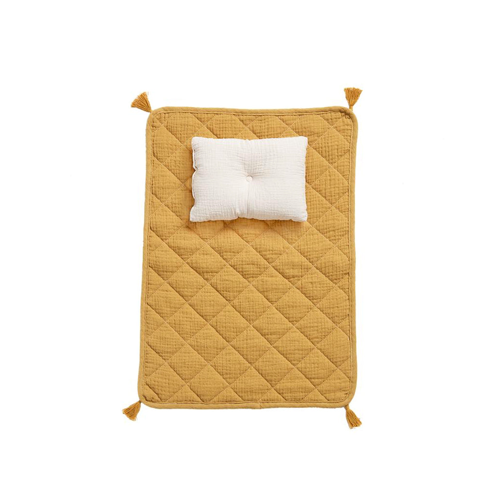 Olli Ella Strolley Bedding Set - Mustard - 1