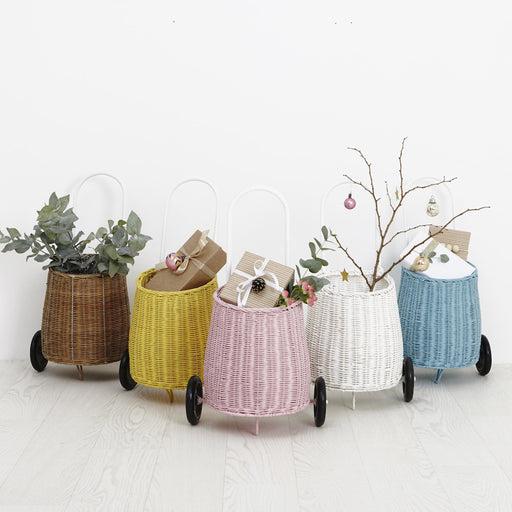 Olli Ella Luggy Basket - Natural - 2