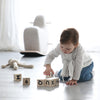 Ooh Noo Alphabet Block - Black - 3