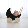 Ooh Noo Toy Pram - Black - 4