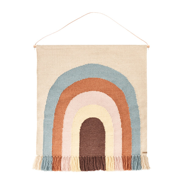 OYOY Follow The Rainbow Wall Rug - 1