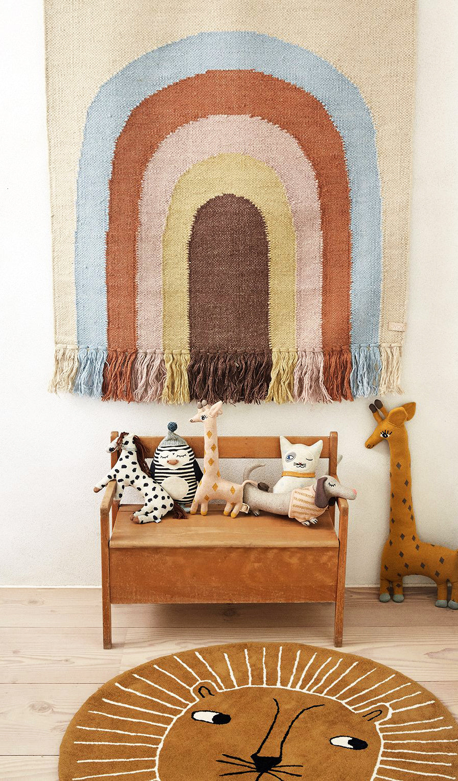OYOY The Lion Rug Caramel - 3