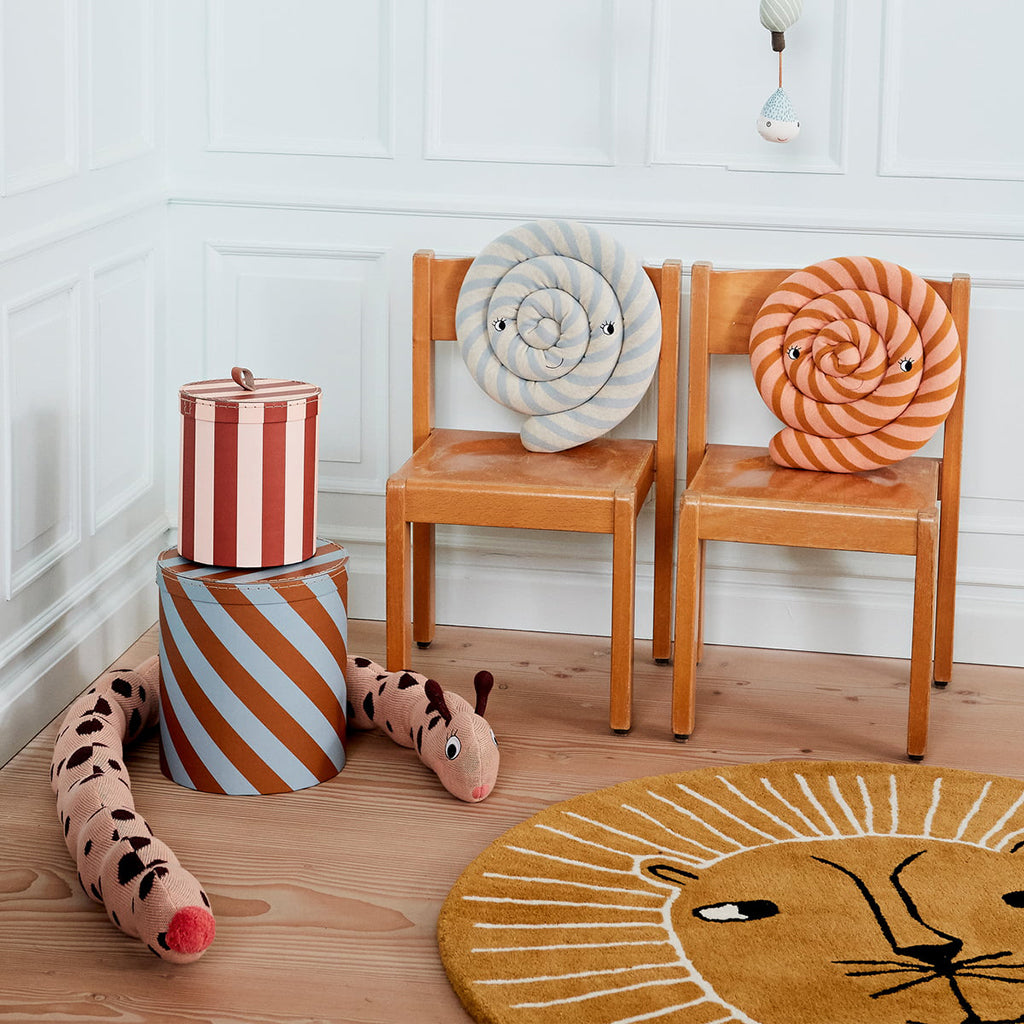OYOY The Lion Rug Caramel - 2