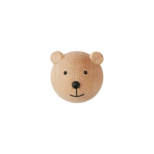 OYOY Wooden Mini Hook - Bear - 1