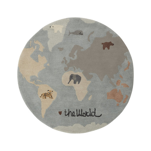 OYOY Tufted The World Rug - 1