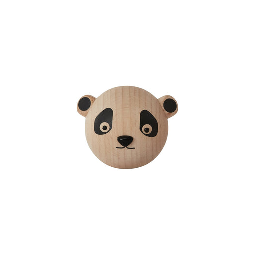 OYOY Wooden Mini Hook - Panda - 1