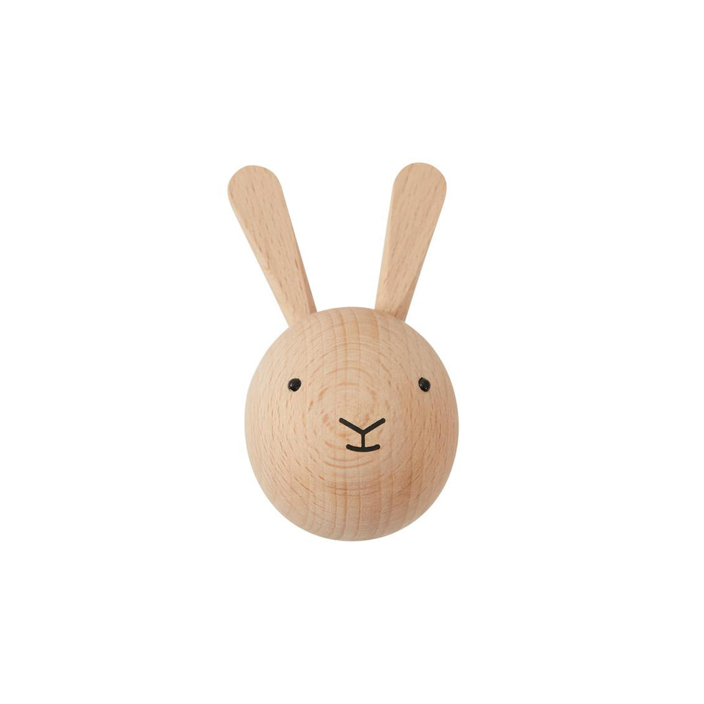 OYOY Wooden Mini Hook - Rabbit - 1