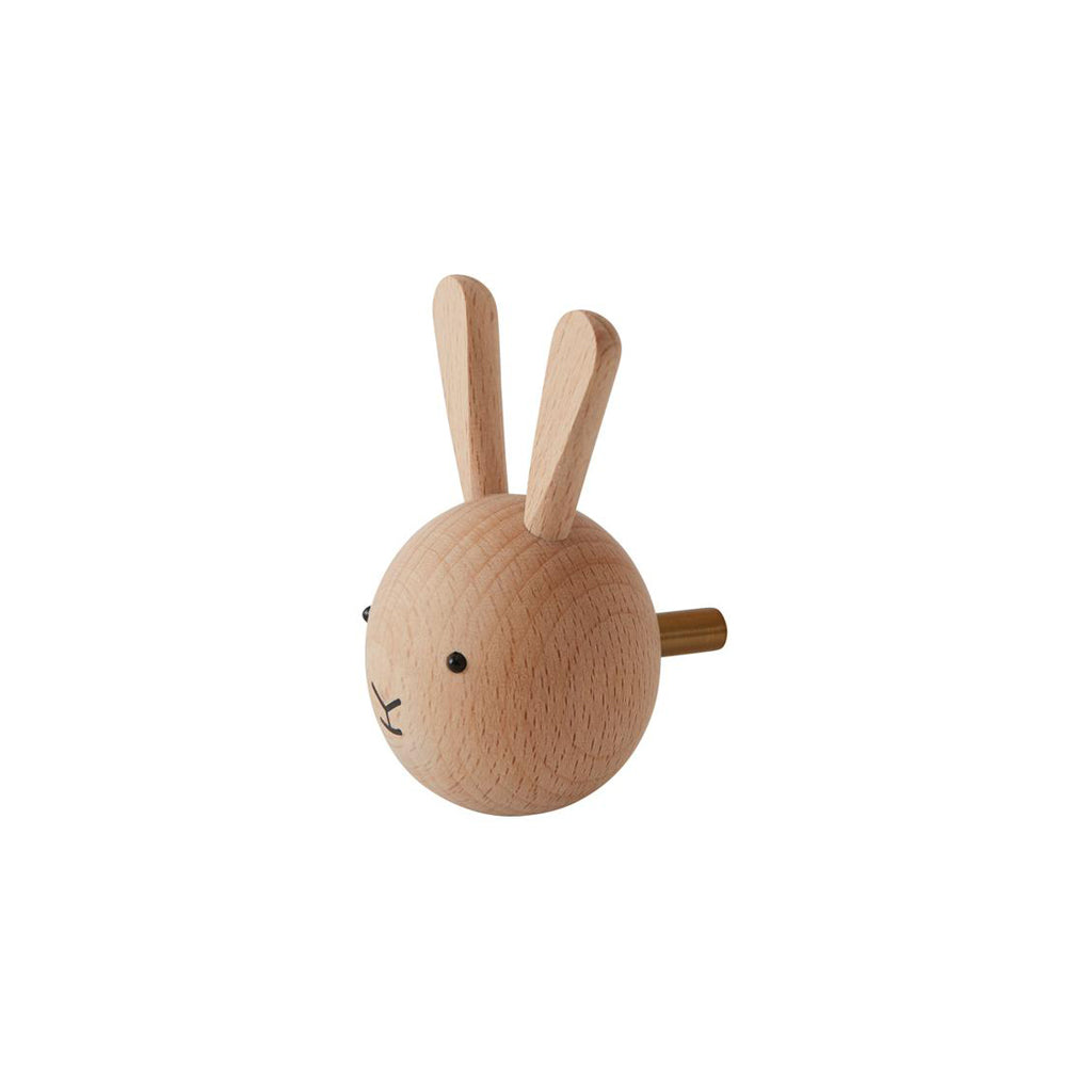 OYOY Wooden Mini Hook - Rabbit - 2