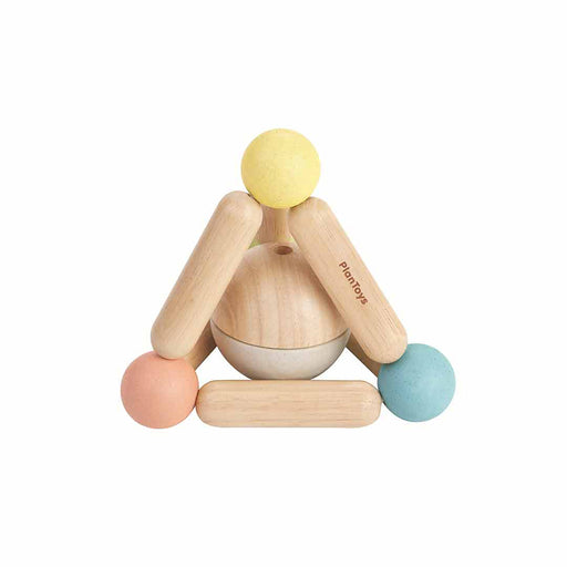 Plan Toys Triangle Clutching Toy - Natural - 1