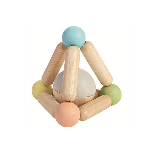 Plan Toys Triangle Clutching Toy - Natural - 2