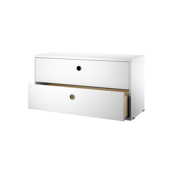 String Shelving System - Chest with 2 Drawers - 1