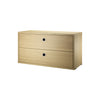 String Shelving System - Chest with 2 Drawers - 3
