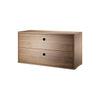 String Shelving System - Chest with 2 Drawers - 5
