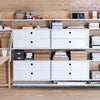 String Shelving System - Chest with 2 Drawers - 7