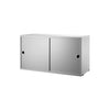 String Shelving System - Sliding Door Cabinet - 4
