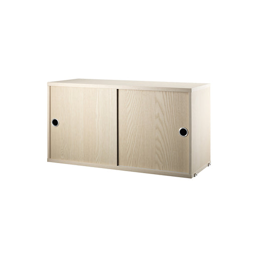 String Shelving System - Sliding Door Cabinet - 1