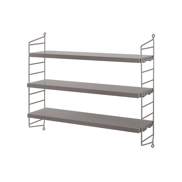 String Pocket Shelf - Grey