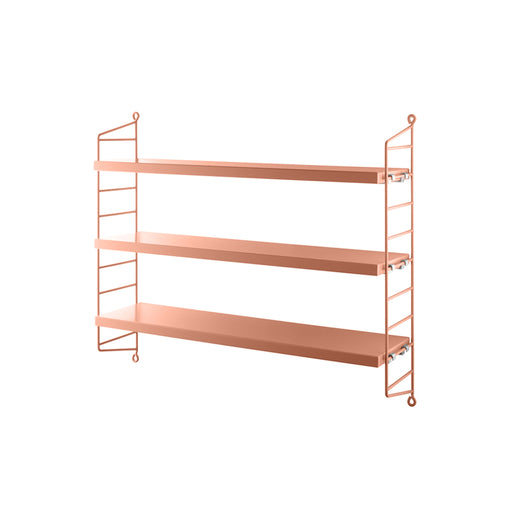String Pocket shelf - Blush - 1