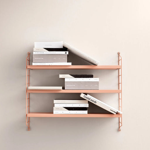 String Pocket shelf - Blush - 2